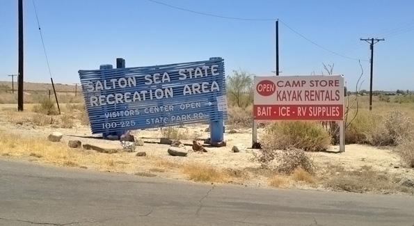 Salton Sea Californië