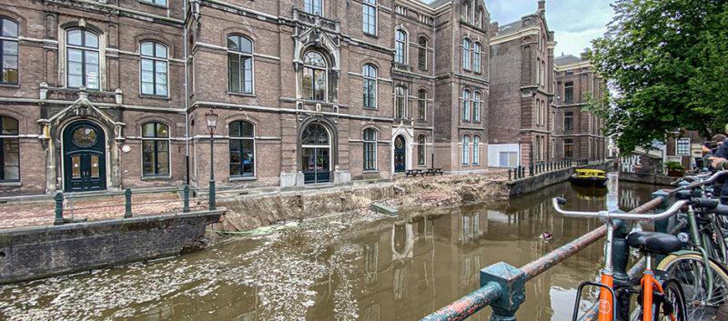 Amsterdamse kademuur stort in…. een Sinkhole ?