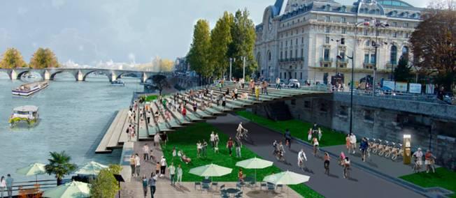 Grootstedelijke ontwikkelingen in Parijs