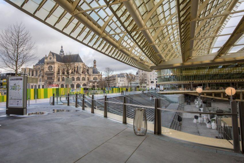 Renovatie Les Halles in Parijs