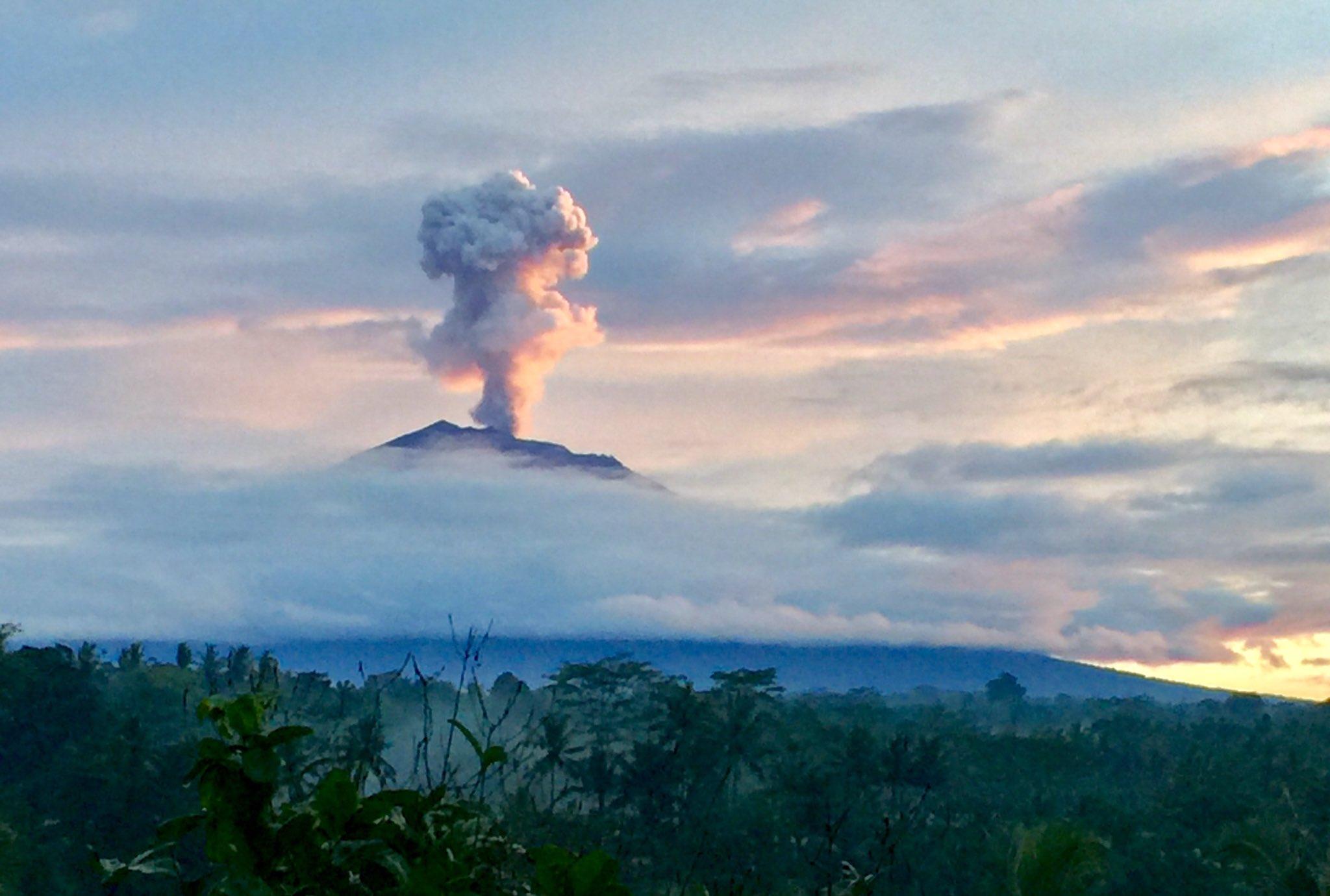 Mt Agung 10 dec 2017