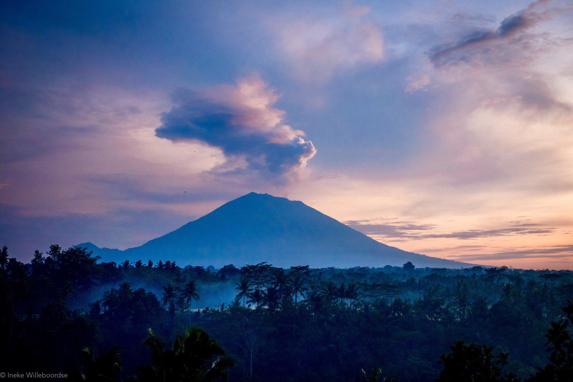 Mt Agung 16 dec 2017