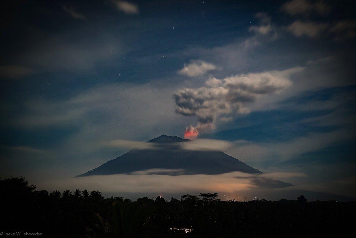 Mt Agung 3 juli 2018