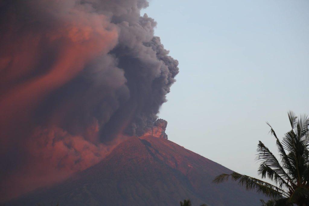 Mt Agung op Bali
