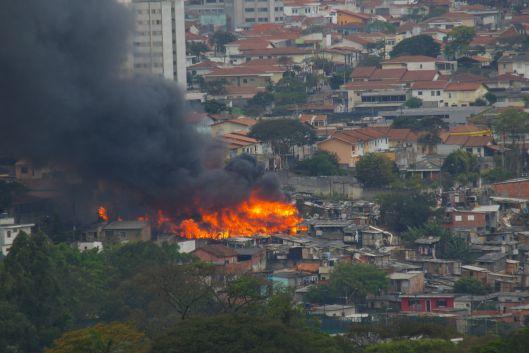 Brand in Favela
