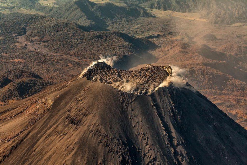 Colima vulkaan Mexico, 2016