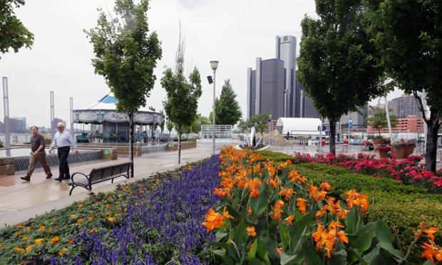 Detroit-downtown
