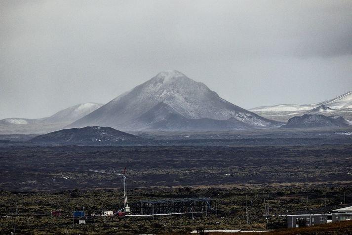 Vulkaan uitbarsting Fagradalsfjall, IJsland