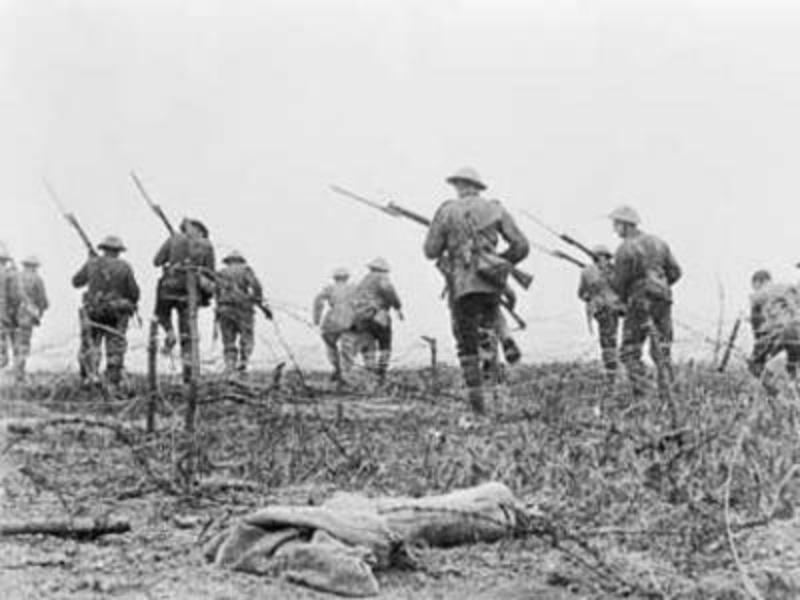 In Europa 1916