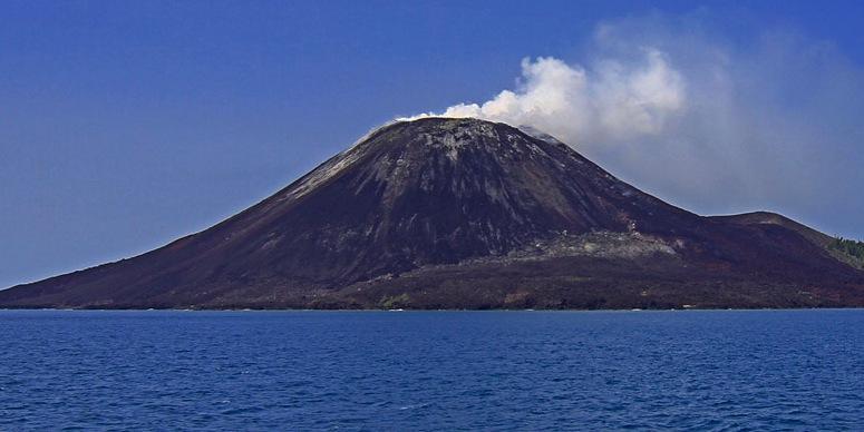 vulkaan in japan heel groot uitgebardten