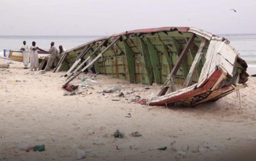 Op de stranden van Senegal