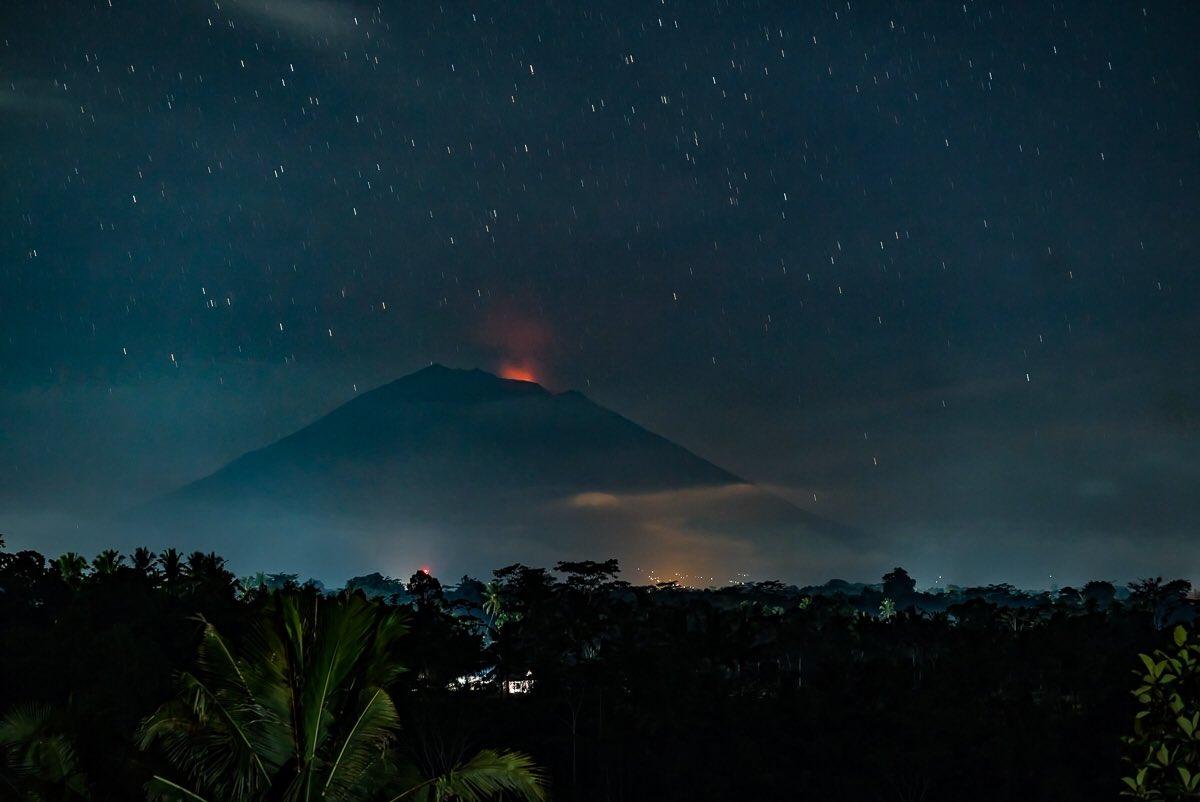 Mt Agung 2 juli 2018