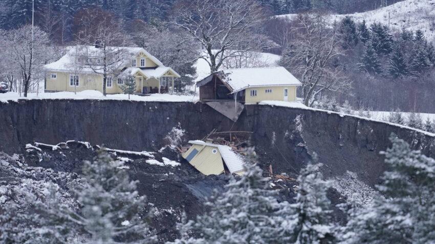 Landslide Noorwegen