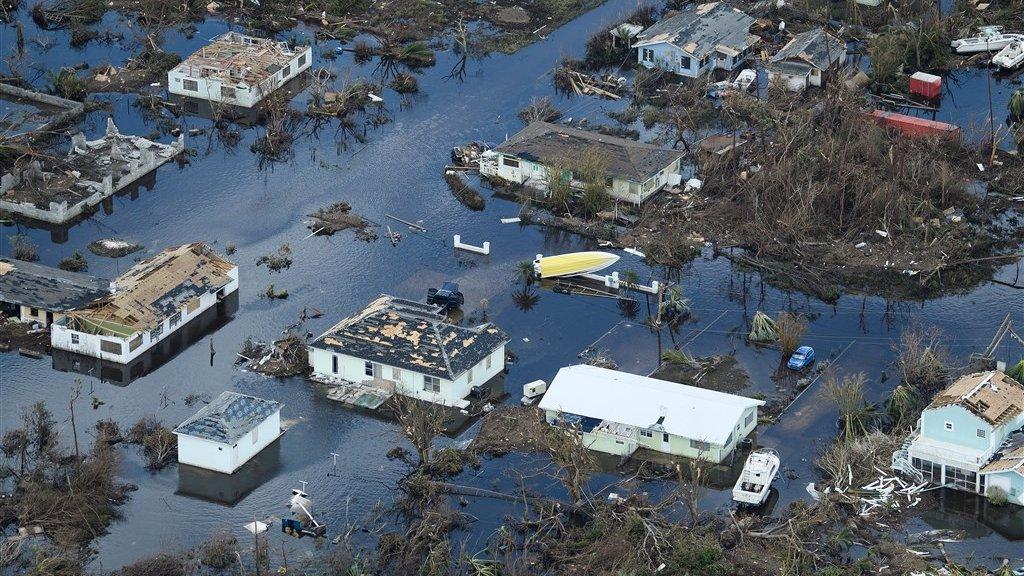 Bahamas na orkaan Dorian