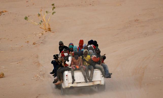 In de Sahara
