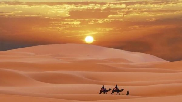 Stof uit de Sahara