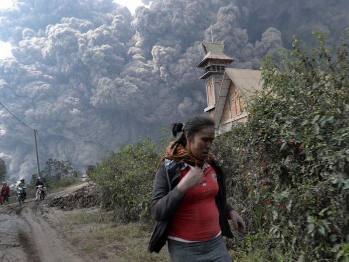 De vernietigende kracht van pyroclastische stromen
