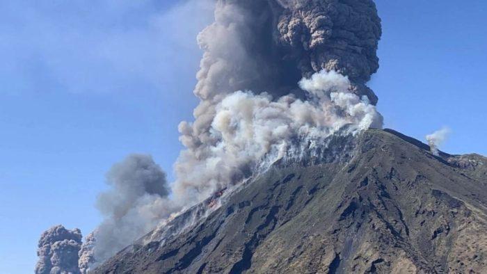 Opnieuw uitbarsting Stromboli