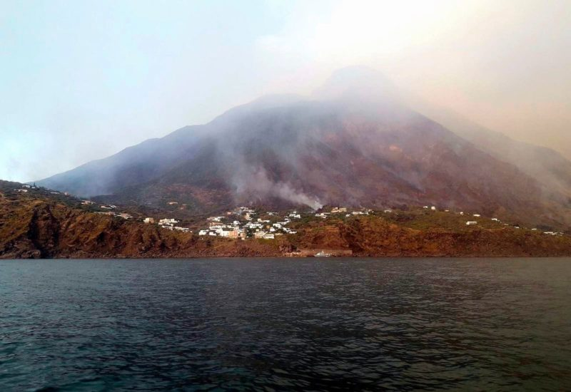 Uitbarsting Stromboli