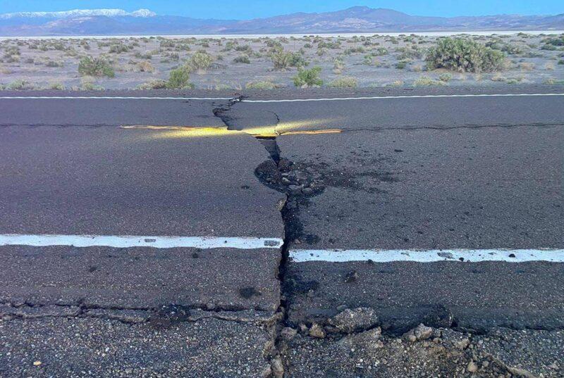 Aardbeving Tonopah
