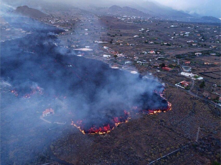 Vulkaanuitbarsting La Pama