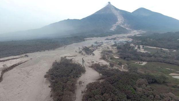 Fuego vulkaan 2018
