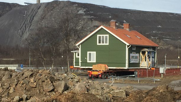 Zweeds stadje wordt verplaatst