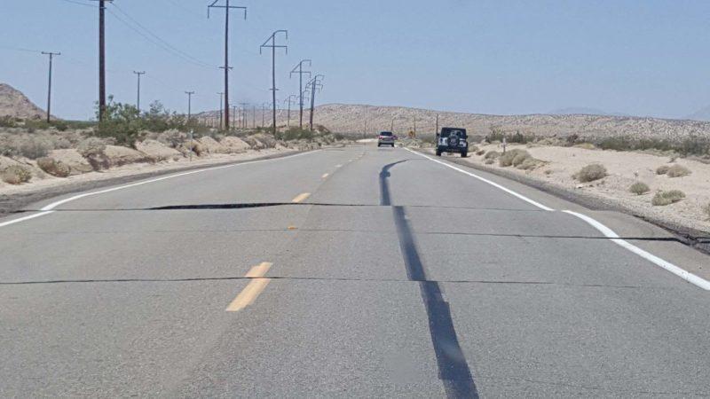 Aardbeving Californië
