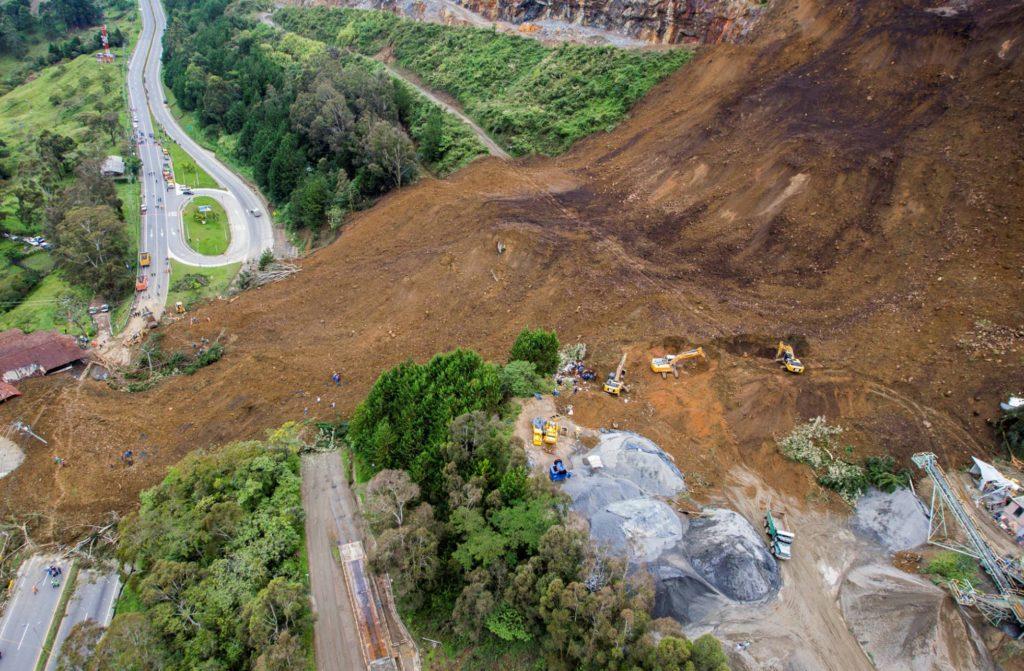 aardverschuiving Colombia 2016