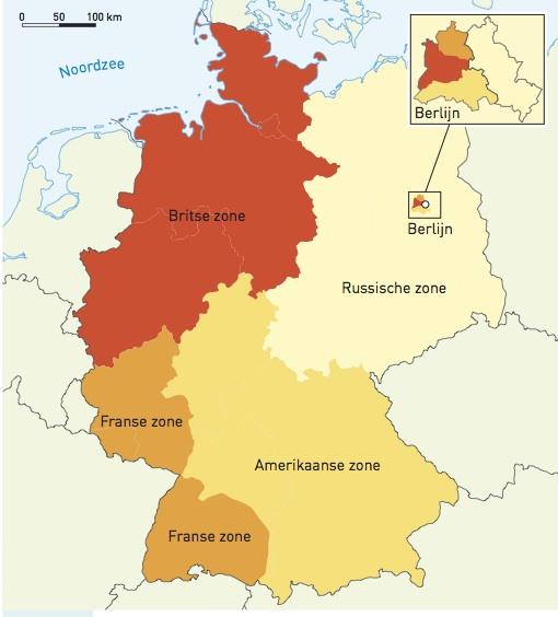 De Berlijnse Muur De Geobronnen