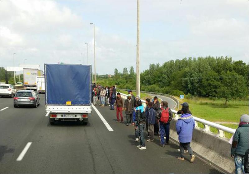 calais-vrachtwagens