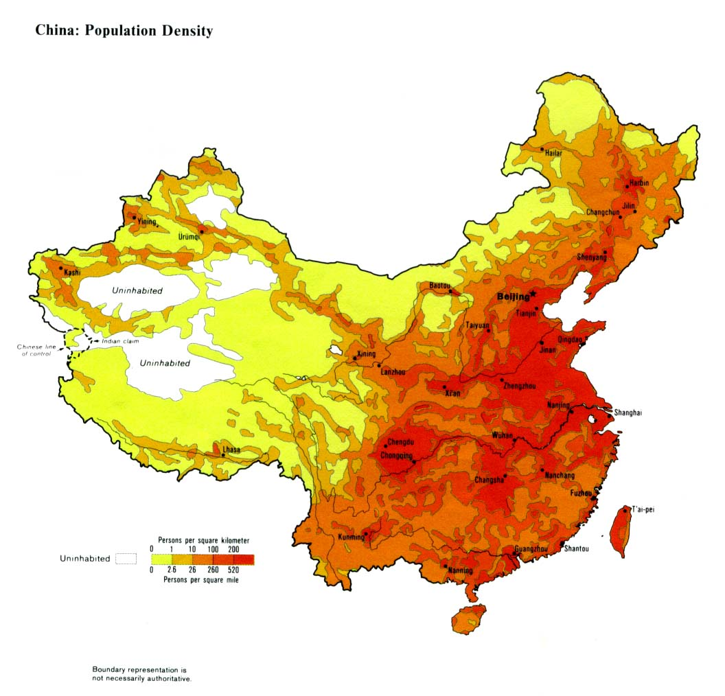 china grote steden