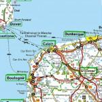 dover-to-calais-road-map