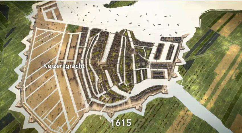 Hoe Amsterdam ontstond