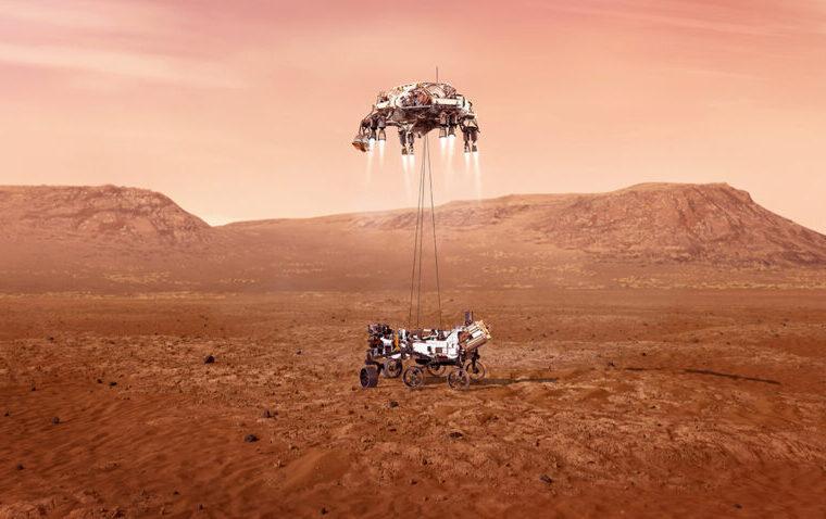 Beelden van Mars