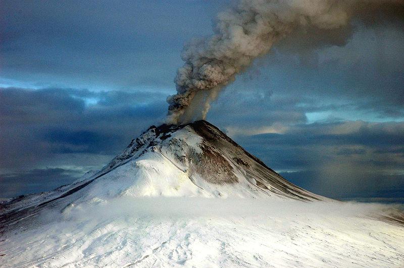 Vulkanen onder het ijs